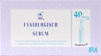 Multipharma Fysiologisch Serum Nacl 0,9% 40x5ml NF
