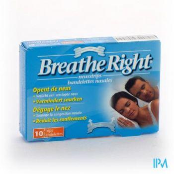 Breathe Right Clear Regular 10