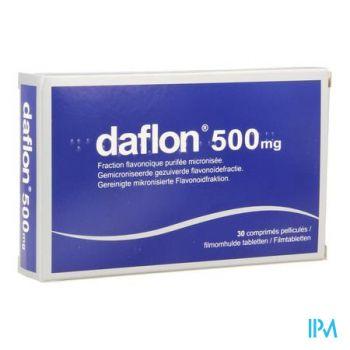 Daflon Impexeco Comp 30x500mg Pip