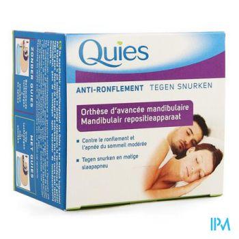 Quies Orthese Onderkaak A/snurk Apneu