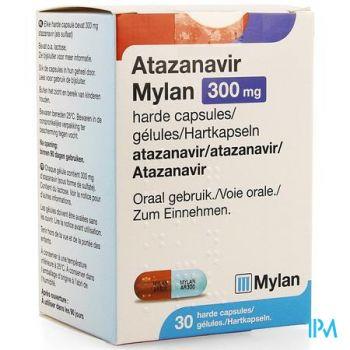 Atazanavir Mylan 300mg Harde Caps 30