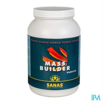 Sanas Mass Builder Pot 1kg Vanille