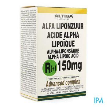 Altisa R(+)-alpha Liponzuur 150mg + C+e V-caps 45