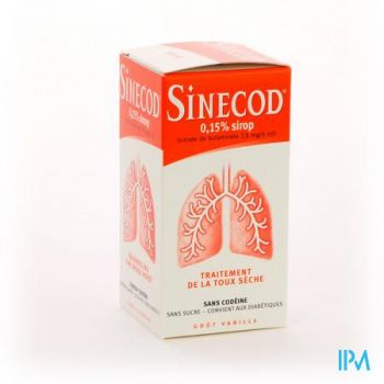Sinecod 0,15% Siroop 200ml
