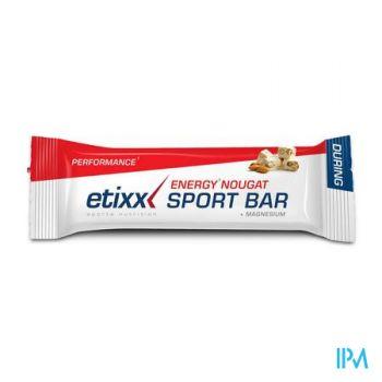 Etixx Energy Sport Bar Nougat 40g