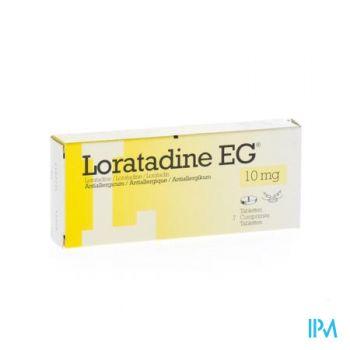 Loratadine Eg 10mg Tabl 7 X 10mg