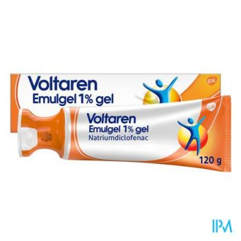Voltaren Emulgel 1 % Gel 120g Applicator Dop