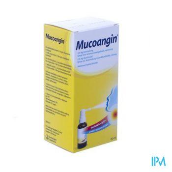 Mucoangin 2,5mg Verstuiving Spray Opl 20ml