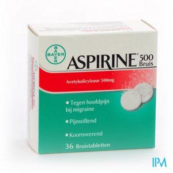 Aspirine 500mg Comp Eff 36