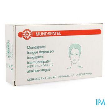 Noba Tongspatel Hout N/st 100 5150125