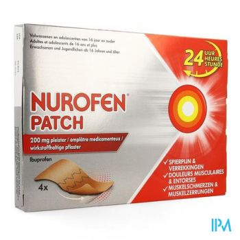 Nurofen Patch 200mg Pleister 4
