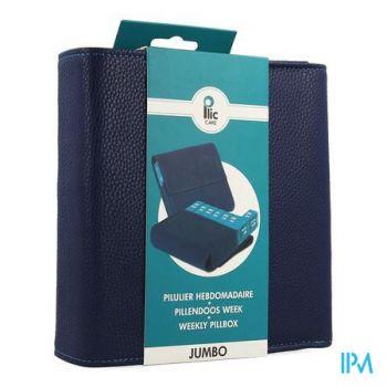 Plic Care Pillendoos Jumbo Blauw