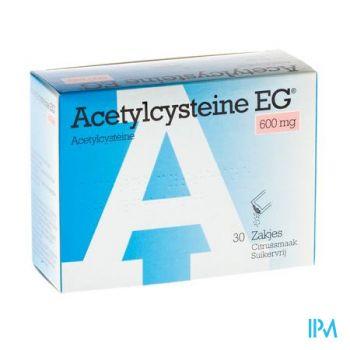 Acetylcysteine Eg Sach 30x600mg