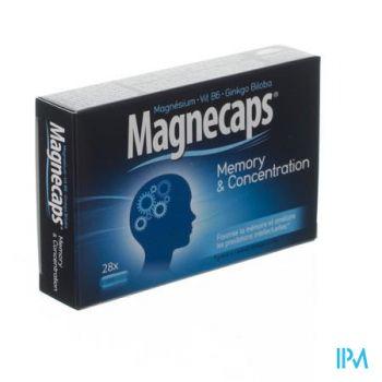 Magnecaps Memory&concentration Caps 28