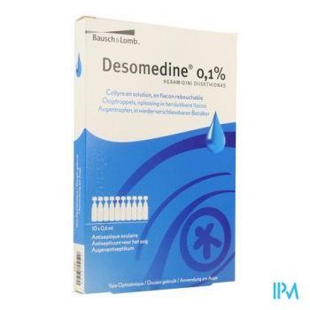 Desomedine 0,1 % Collyre 10x0,6ml