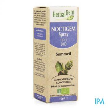 Herbalgem Noctigem Slaap Spray Bio 10ml