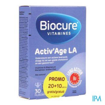 Biocure Activ Age La Filmomh.tabl 20+10 Promopack