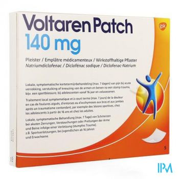 Voltaren Patch 140mg Pleister 5